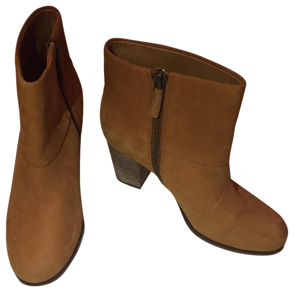 Cole Haan Tan Tan Haan Pebbled Leather Boots/Booties e778ad