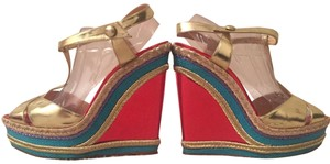 Christian Louboutin MultiColor Wedges