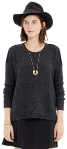 Madewell Suede Knit Boxy Cozy Sweater