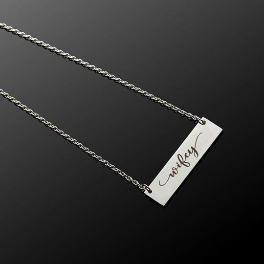 QueenEsthershop Ladies Stainless Steel Wifey Necklace Image 3
