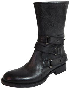 Vera Wang Lavender Label Leather Gray Boots