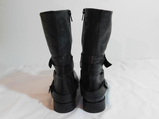 Vera Wang Lavender Label Leather Gray Boots Image 4