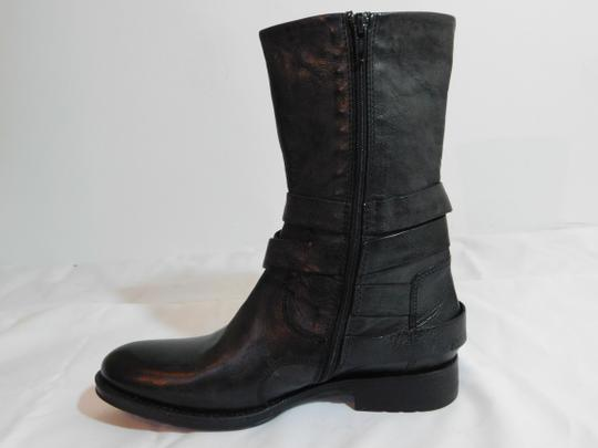 Vera Wang Lavender Label Leather Gray Boots Image 7
