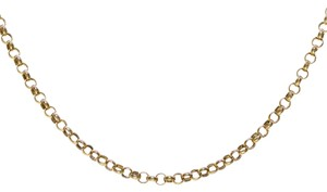 Avital & Co Jewelry 14K Yellow Gold 20 Inch Rolo Chain 5.1 Grams Made In Italy