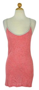 Whetherly short dress Coral & Grey Tank Cover-up on Tradesy