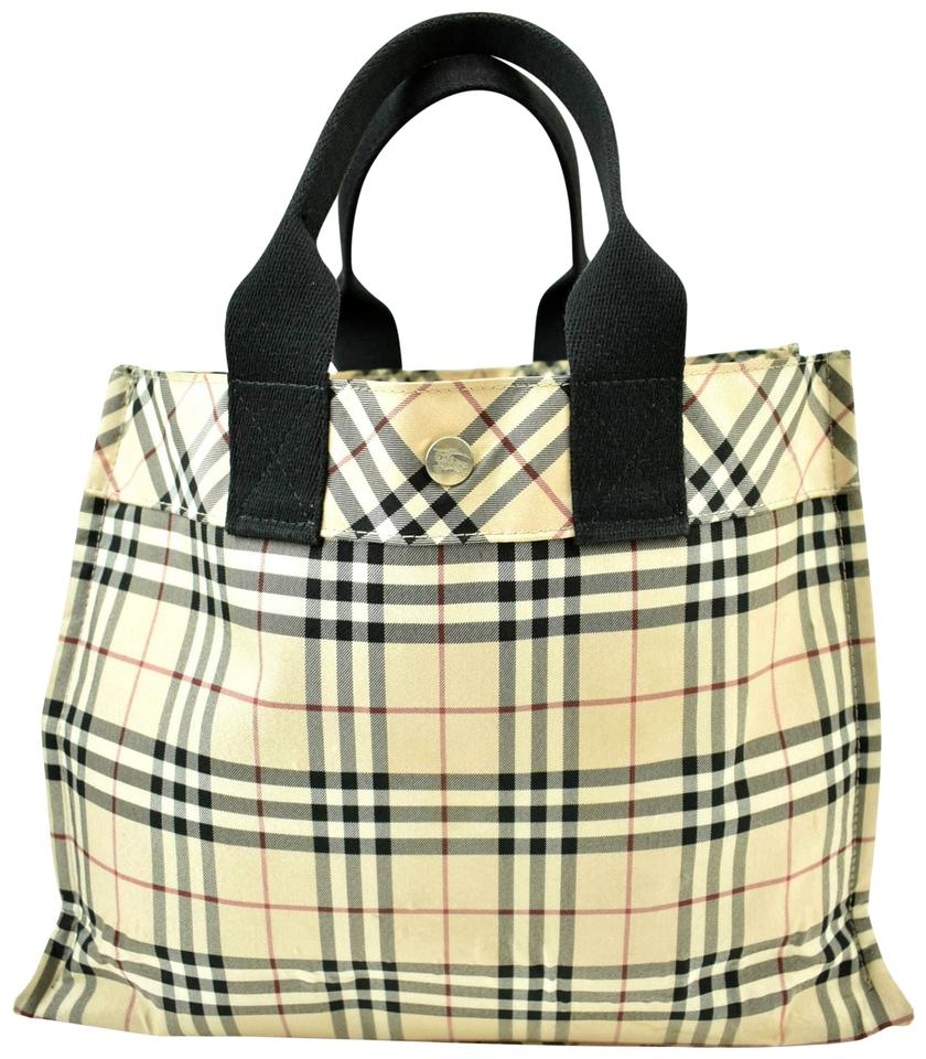 Burberry Blue Label East West Classic Check Canvas Tote - Tradesy 4bf930cc4a673