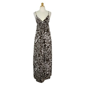 Maxi Dress by Maria Bianca Nero Cotton Silk Butterfly