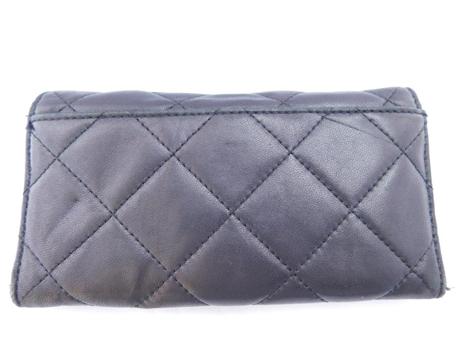 Michael Kors Black Fulton Quilted Leather Wallet - Tradesy : michael kors fulton quilt - Adamdwight.com