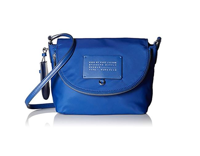 Item - Mini Natasha True Blue Nylon Cross Body Bag