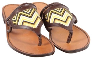 Missoni brown and yellow Sandals