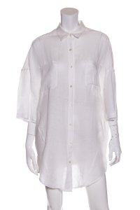 Stella Jean Button Down Shirt White