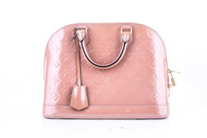 Louis Vuitton Alma Pm Monogram Vernis Shoulder Bag
