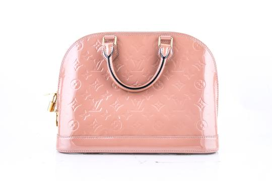 Louis Vuitton Alma Pm Monogram Vernis Shoulder Bag Image 3