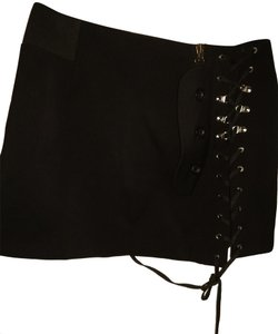 Anthony Vaccarello Mini Skirt Black