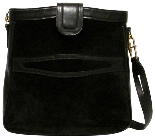 Gucci True 1960's Mod Excellent Vintage Dressy Or Casual Early Style Unique Pouch Style Shoulder Bag Image 0