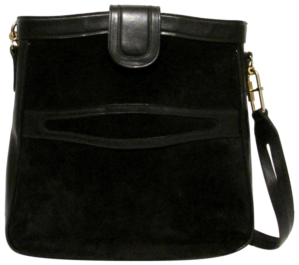 53d906763 Gucci True 1960's Mod Excellent Vintage Dressy Or Casual Early Style Unique  Pouch Style Shoulder Bag ...