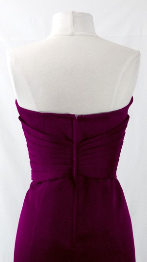 Alfred Angelo Grape Satin Style 7042 Formal Bridesmaid/Mob Dress Size 6 (S) Image 10