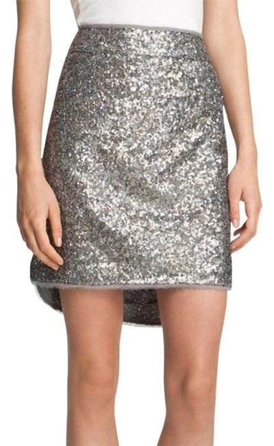 Preload https://img-static.tradesy.com/item/22758109/zadig-and-voltaire-silver-jasmina-skirt-size-2-xs-26-0-6-650-650.jpg