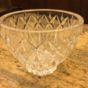 Waterford Small Crystal Welcome Bowl Decoration
