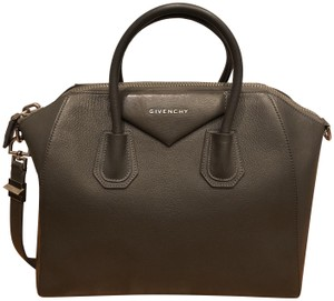 Givenchy Leather Satchel in Grey