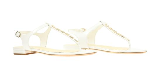 Chanel White Sandals Image 1