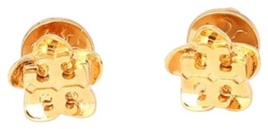 Tory Burch New! Tory Burch Floral & Logo Earring