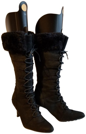 Preload https://img-static.tradesy.com/item/22758525/colin-stuart-black-with-fur-bootsbooties-size-us-65-narrow-aa-n-0-1-540-540.jpg