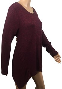 NY Collection Top Burgundy