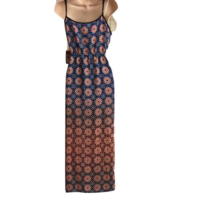 Blue & Peach Maxi Dress by Vince Camuto Image 5
