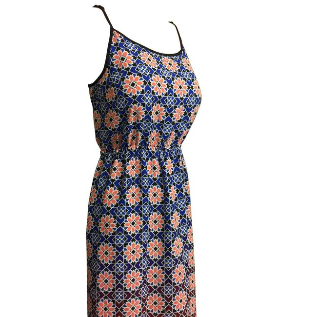 Blue & Peach Maxi Dress by Vince Camuto Image 6
