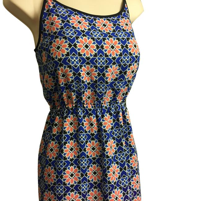 Blue & Peach Maxi Dress by Vince Camuto Image 7
