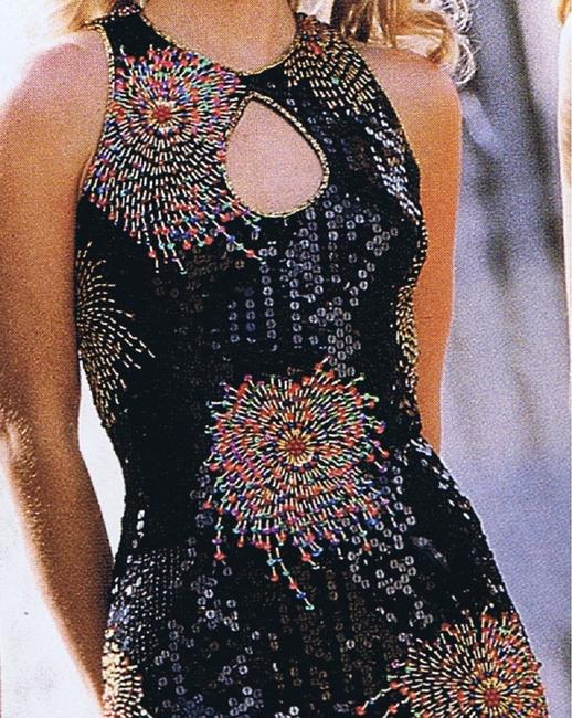 Just Female Party Dance Sequin Prom Cruise Dress Image 5