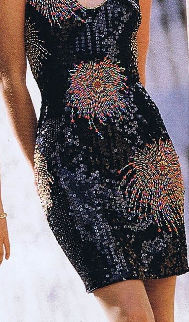 Just Female Party Dance Sequin Prom Cruise Dress Image 6