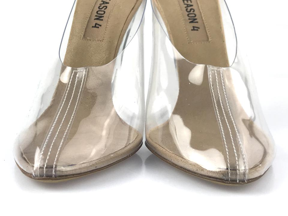 611b673dc7c YEEZY Transparent Season 4 Pvc Stiletto Mules Slides Size EU 36.5 (Approx.  US 6.5) Regular (M