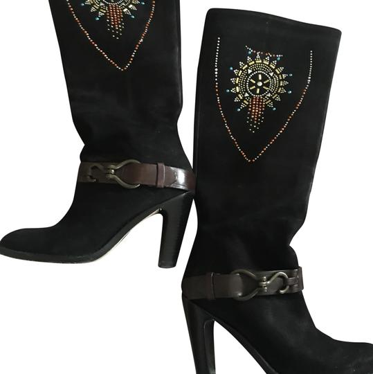 Preload https://img-static.tradesy.com/item/22759069/cole-haan-black-with-gold-design-custom-made-navajo-bootsbooties-size-us-75-regular-m-b-0-1-540-540.jpg