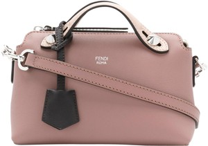 Fendi By The Way Leather Cross Body Bag