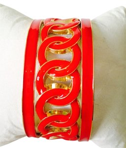Other 3-Piece Set Red Enamel Circl