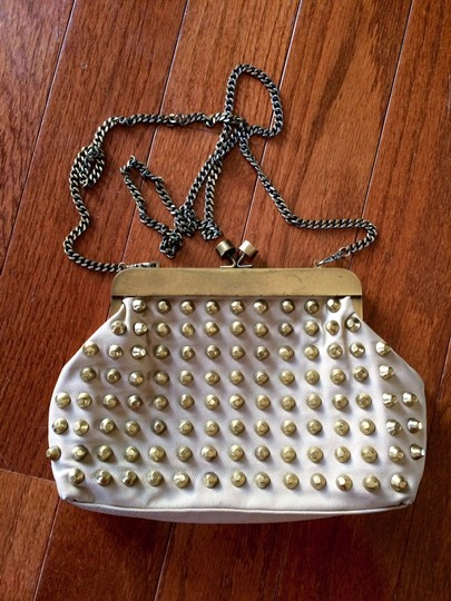 LF Stores Chain Studded Cross Body Bag