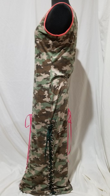 Camouflage Maxi Dress by Bobbie Brooks Camodress Talldress Large Image 2
