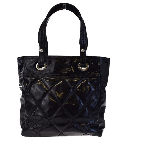 Chanel Made In Italy Satchel in Black Image 1