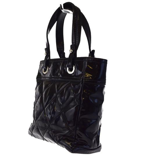Chanel Made In Italy Satchel in Black Image 3