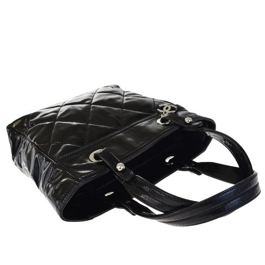 Chanel Made In Italy Satchel in Black Image 5