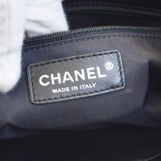 Chanel Made In Italy Satchel in Black Image 6