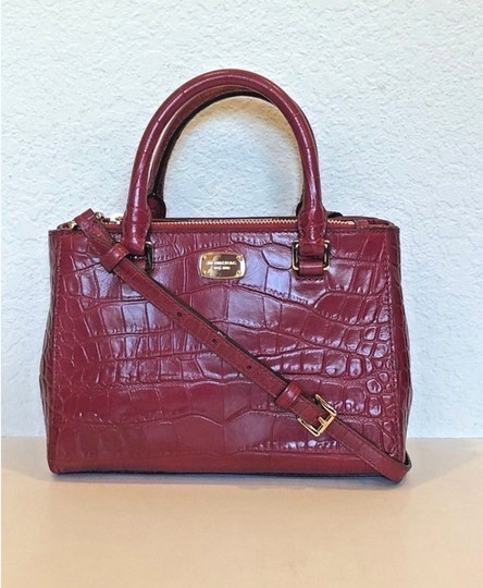 Michael Kors Kellen Tote Satchel in red Image 10