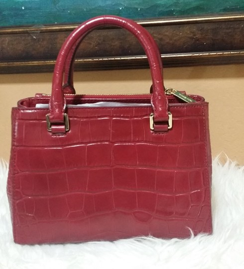 Michael Kors Kellen Tote Satchel in red Image 2