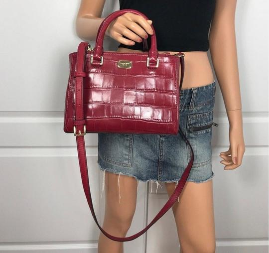 Michael Kors Kellen Tote Satchel in red Image 4