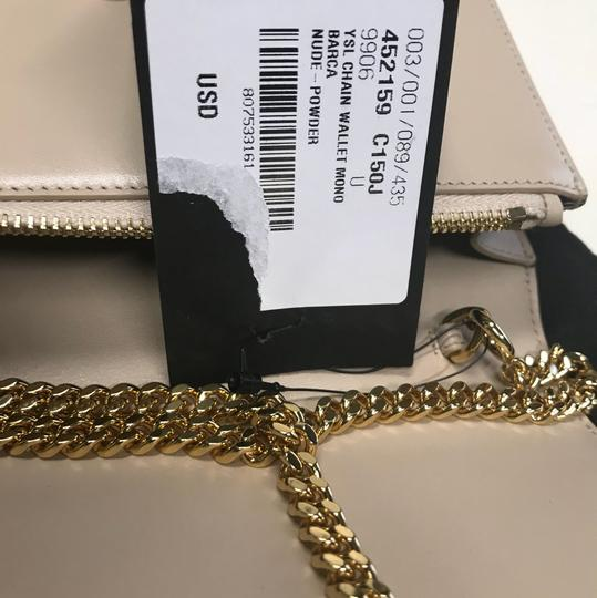 Saint Laurent Envelope Monogram Kate Ysl Monogram Tassel