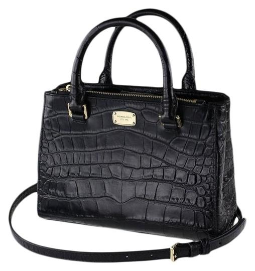 Preload https://img-static.tradesy.com/item/22759974/michael-kors-kellen-x-small-adj-strap-black-leather-satchel-0-6-540-540.jpg