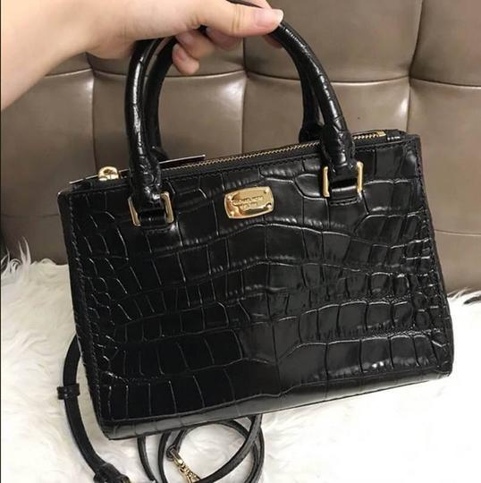 Michael Kors Kellen Tote Satchel in black Image 3