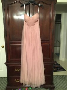 Jenny Yoo Whipped Apricot Tulle Annabelle Convertible Bridesmaid/Mob Dress Size 4 (S)